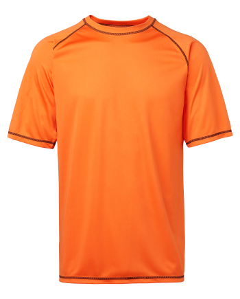 Funktions T-shirt (orange) (XXXL)