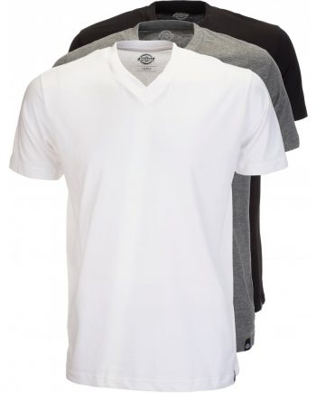 Dickies multi -colour V Neck T-shirt pack (Assorted Colors) (2XL)