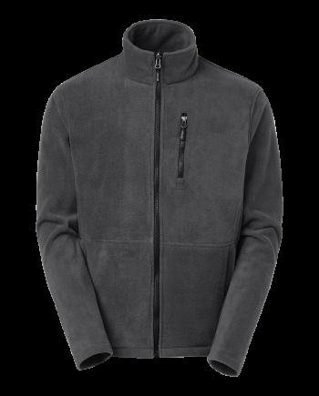 Fleece zip Ames (graphite) (4XL)