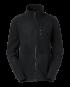 Fleece zip Alma (black) (XXXL)