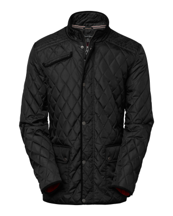 Hunter ms quilt jkt (blk) (XXXL)