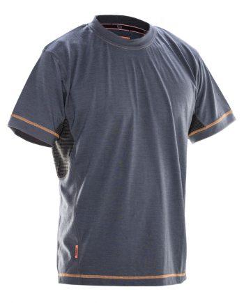 T-shirt Dry Tech Merinoull 5595 (Mörkgrå/svart (9899)) (XXXL)