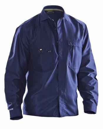 Skjorta bomull 5601 (Marin (6700)) (XXXL)