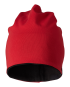 Beanie 2-fg (red/black) (ONE SIZE)