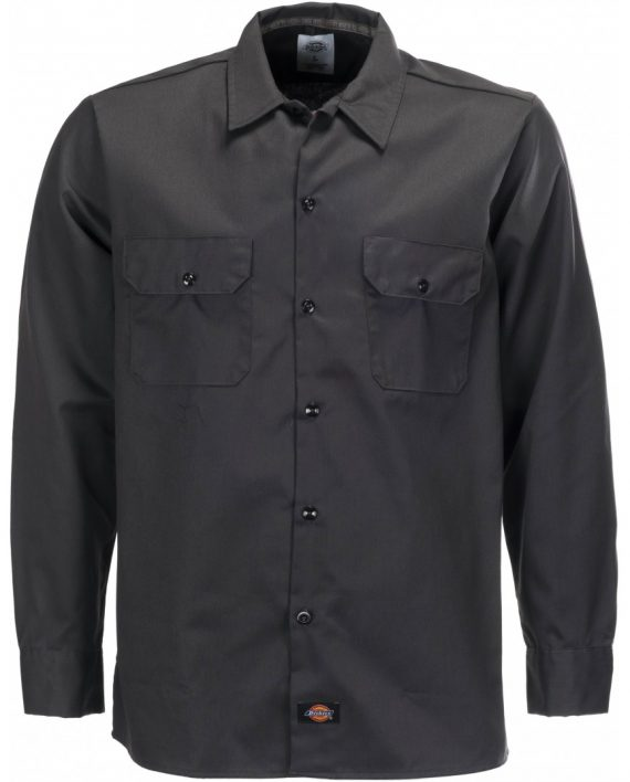 wl576-bk-long-sleeve-slim-work-shirt-ft