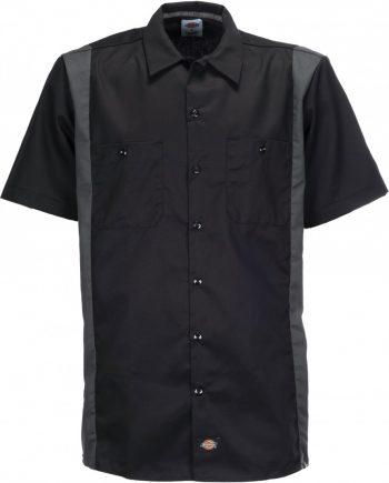 Two Tone work shirt (Black Charcoal) (3XL)